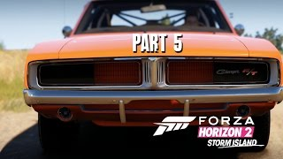 Forza Horizon 2 Storm Island Gameplay Walkthrough Part 5 - AMERICAN MUSCLE