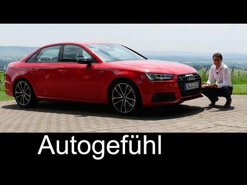 Audi S4 FULL REVIEW test driven V6 Limousine/sedan & Avant/estate new neu