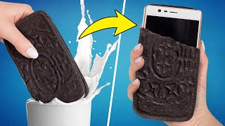 Awesome Oreo Phone Case | Polymer Clay DIY