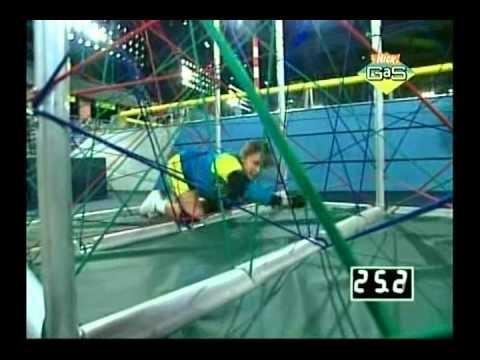Nickelodeon GUTS: Bianca VS. Eileen VS. Jeremy (Part 1)