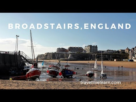 A London day trip to Kent: Broadstairs and Botany Bay