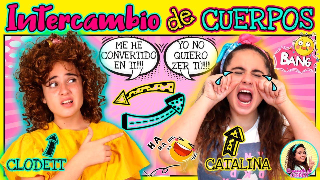 INTERCAMBIO de CUERPOS de CLODETT y CATALINA! Un HECHIZO de @Hadas BFF me CONVIERTE en CATALINA (AD)