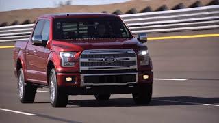 2015 Ford F-150 Crash Test