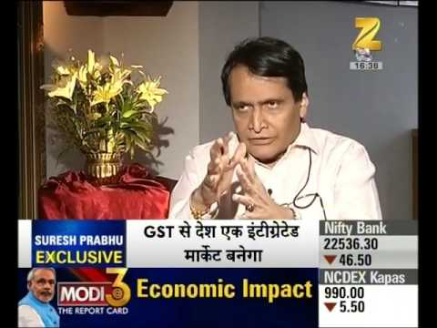 Exclusive Interview with Union rail minister Suresh Prabhu