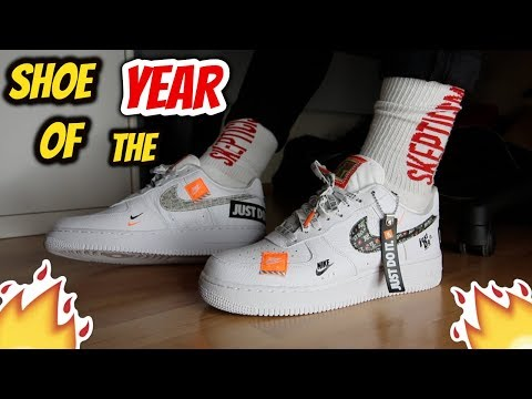 Shoe Of The Year Nike Air Force 1 07 Premium Just Do It