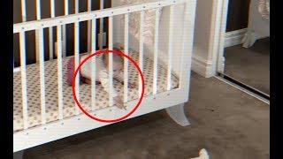 Baby Escapes Crib 😳😱