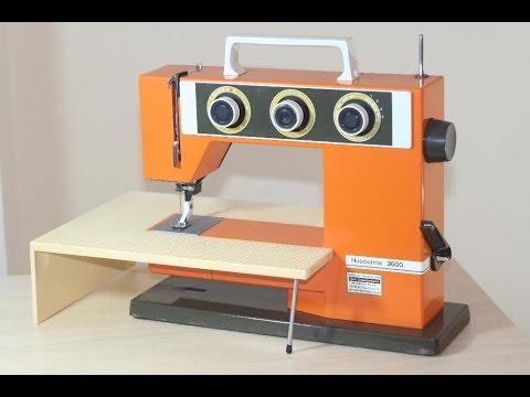 Husqvarna 3600 Nähmaschine Sewing machine Швейная машина test