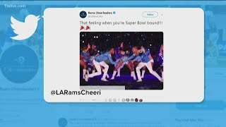 HISTORY IN THE MAKING | First male cheerleaders to be a part of  Super Bowl