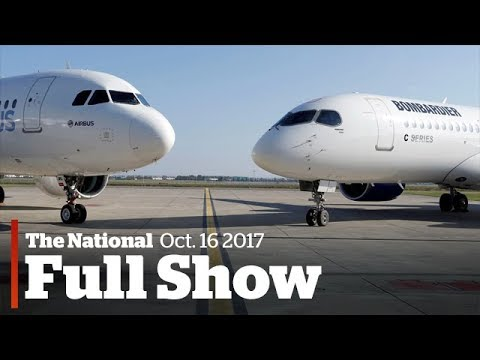 Watch Live: The National for Monday, October 16, 2017