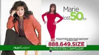 TV Commercial Spot - Nutrisystem - Christmas 2014 - Lose Weight For the Holidays - Feat Marie Osmond