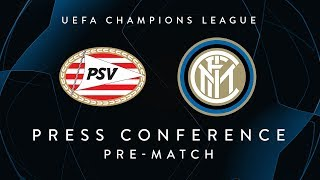 PSV vs INTER | Pre-Match Press Conference LIVE | Handanovic, De Vrij and Spalletti