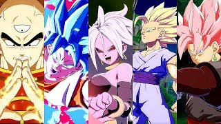 Dragon Ball FighterZ - ALL SUPERS & Variations @ 1080p (60ᶠᵖˢ) HD ✔