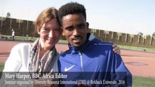 Presentation by Mary Harper, BBC Africa Editor @  Birkbeck University!