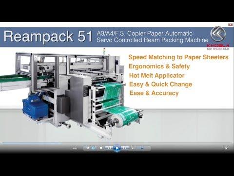 Reampack 51 - Paper Packaging Machine (A4 / A3 / FS)