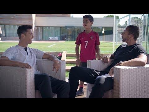 Rio Ferdinand talks to Cristiano Ronaldo    Exclusive Interview  
