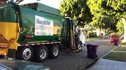 Waste Management Long Beach Recycles Late on a Wednesday Night