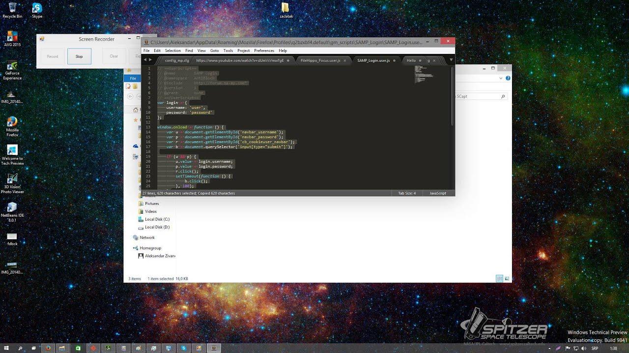 Install Greasemonkey script Firefox