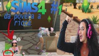 Da Povera a Ricca Challenge - The Sims 4 E.1 + TRUCCO SOLDI   Cinzia Cavaleri