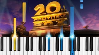 20th Century Fox Fanfare - Piano Tutorial / Piano Cover