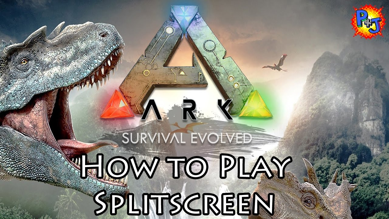 Ark survival evolved how to play split screen couch co for Couch koop ps4