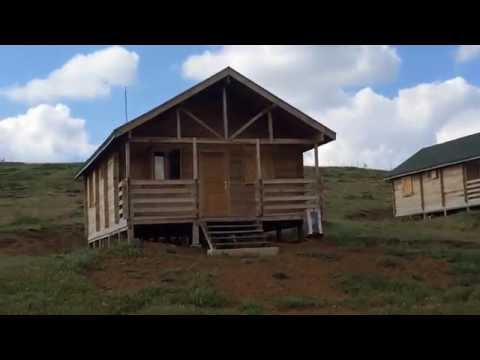 çankırı yapraklı büyükyayla hazım dağı tabitat parkında bungalov evleri