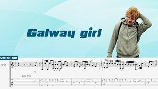 Ed Sheeran- Galway girl guitar tab [Andrew Foy]