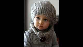 Cool Wool Hat and Cowl Set - Knit Hat Pattern