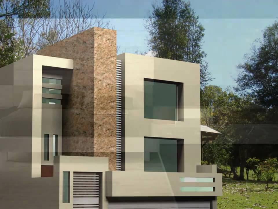 Casa contemporanea tipo medio residencial youtube - Casas contemporaneas ...