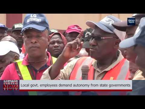 Local govt. employees demand autonomy from state government (Nigerian News)