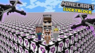MINI GAME : ĐẠI CHIẾN ĐƯỜNG ĐUA LUCKY BLOCK ENDER DRAGON CÙNG OP TEAM (MK Gaming Minecraft) thumbnail