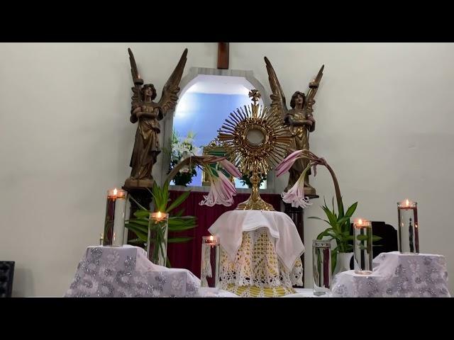 La Hora de la Misericordia - Capilla del Divino Niño, Colegio Ana Guerra de Jesús en San Salvador.