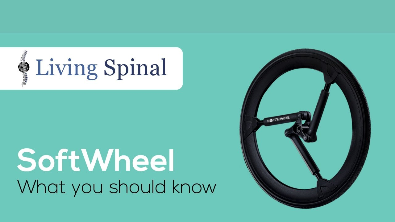 SoftWheel for Wheelchairs - In-Wheel Suspension