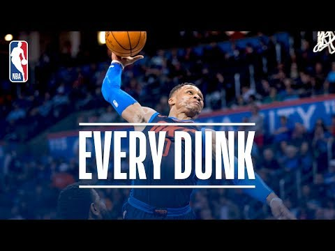 Every Dunk From the 76ers vs. Thunder Game | January 28, 2018