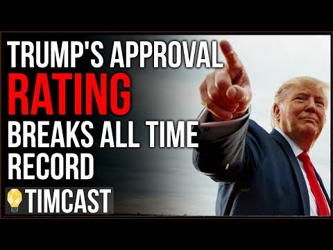 Trump\'s Approval Breaks ALL TIME High With Record High African American Support
