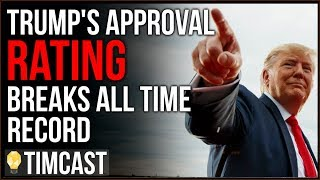 Tim Pool Trump's Approval Breaks ALL TIME High With Record High African American Support