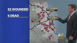 At Least 58 People Shot In Chicago This Weekend; 6 Dead, 52 Wounded