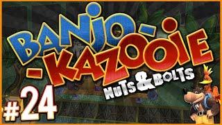 Banjo-Kazooie: Nuts & Bolts - LOGS LOST CHALLENGES! | PART 24