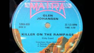 GLEN JOHANSEN - killer on the rampage sur www.boogie-star.com