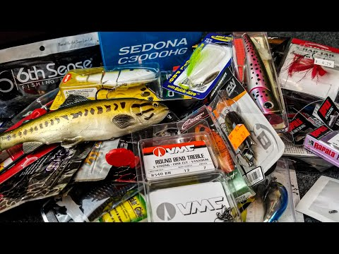 Crazy Cheap Fishing Lures And Gear Unboxing (I BOUGHT ALL THEY HAD!)