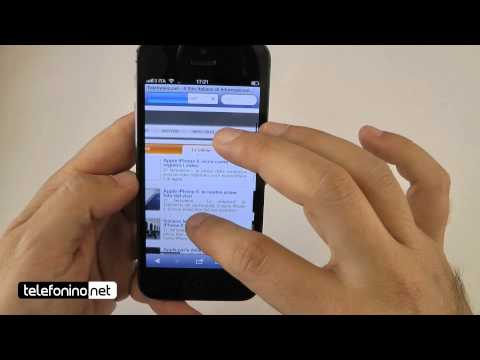 Apple iPhone 5 videopreview da Telefonino.net