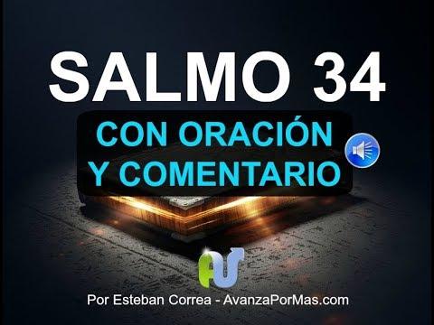 Salmo 34 Biblia Hablada Con Explicación Oración Poderosa En Audio Y