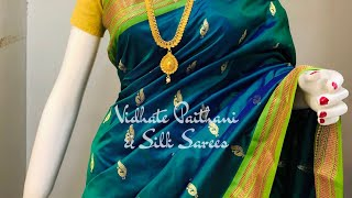 Yeola Paithani Saree | Manufacturer | Vidhate Paithani Yeola