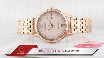 Review Citizen #11: Đồng hồ Citizen EW2533-89X