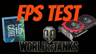 World of Tanks Maximum Graphics (Fps Test 120 FPS+) MSI GTX 1070, Intel i5-6600k