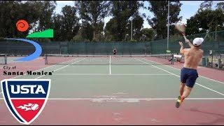 Tennis with John: USTA NTRP 4.5 Highlights HD
