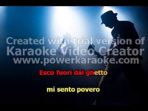 """SOPRA LA MEDIA """"J AX"""" Karaoke-Free"""