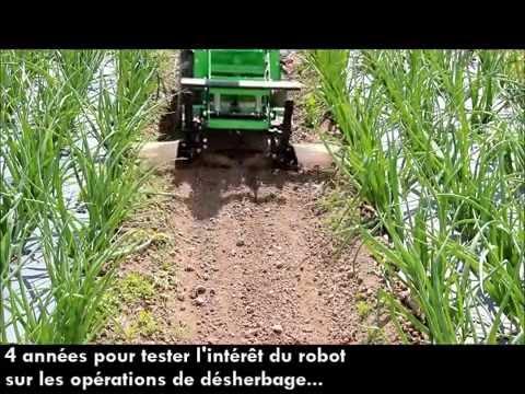 Le robot oz en essai la station exp rimentale de la - Chambre d agriculture morbihan ...