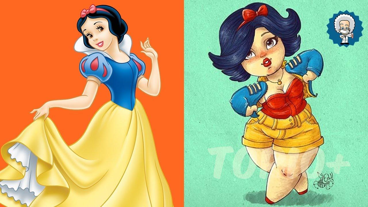 Princesas Da Disney Plus Size Youtube