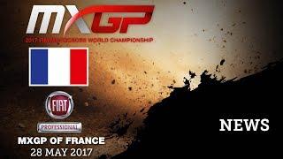 NEWS Highlights - Fiat Professional MXGP of France 2017 - mix eng