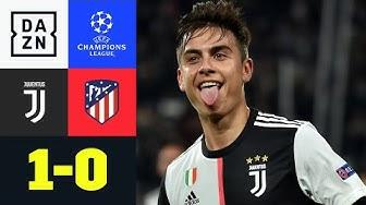 DYBALISSIMO FANTASTICOOOO: Juventus - Atletico Madrid 1:0 | UEFA Champions League | DAZN Highlights